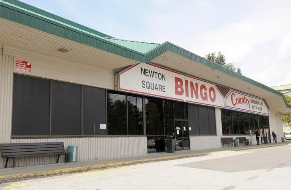 Bingo Country building exterior in Newton. EVAN SEAL / THE LEADER